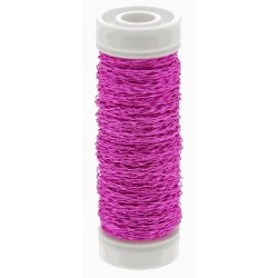 Bullion Wire - Hot Pink (0.3mm x 25g)