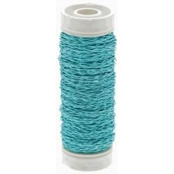 Bullion Wire - Turquoise (0.3mm x 25g)