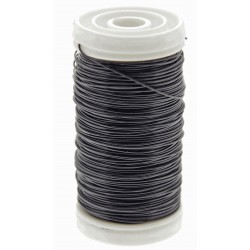 Metallic Wire - Black (0.5mm x 100g)