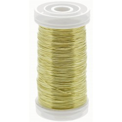 Metallic Wire - Gold (0.5mm x 100g)