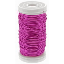 Metallic Wire - Hot Pink (0.5mm x 100g)
