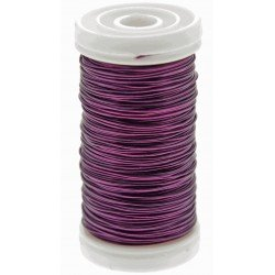 Metallic Wire - Purple (0.5mm x 100g)