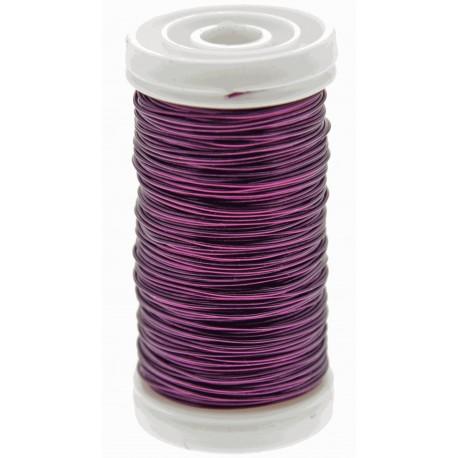 Metallic Wire - Purple (0.5mm x 100g)