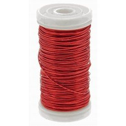 Metallic Wire - Red (0.5mm x 100g)