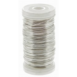 Metallic Wire - Silver (0.5mm x 100g)