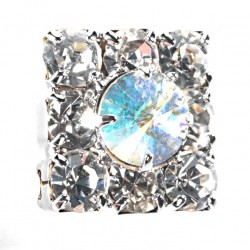Kara's Kisses - Brilliance Silver Floral Pick (1cm Diameter, 3 pieces per pk)