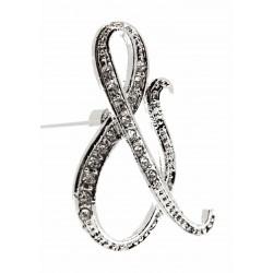 Monogram Letters & - Silver