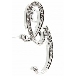 Monogram Letters G - Silver (15cm pin)