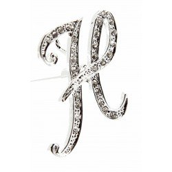 Monogram Letters H - Silver