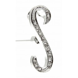 Monogram Letters S - Silver