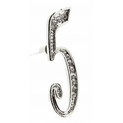 Monogram Numbers 5 - Silver