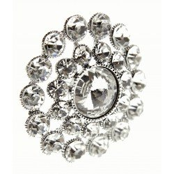 Sparkling Heirloom Brooch Pin - Large (5cm, 20cm pick)