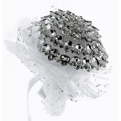 Fancy Brooch Bouquet Fascination - Silver