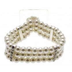 Empress Cream Corsage Bracelet