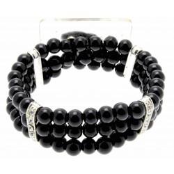Empress Black Corsage Bracelet