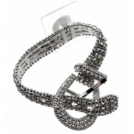 Trend Setter Corsage Bracelet - Silver