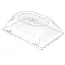 Corsage Box - Clear (11cm Height x 20.5cm Wide x 13.5cm Deep)