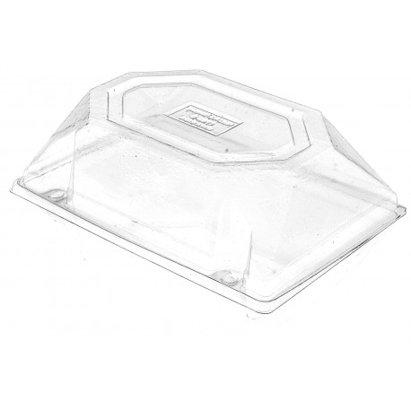 Corsage Box - Clear (14cm Height x 20cm Wide)