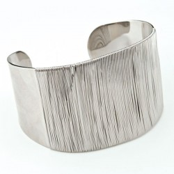 Ashley Silver Corsage Cuff