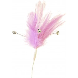 Flutters Feathers - Light Pink (15cm Long, 3 pcs per pack)