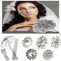 Large Round Brooch Bouquet Kit