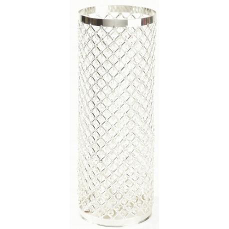 Silver & Crystal Column - Silver (60cm)