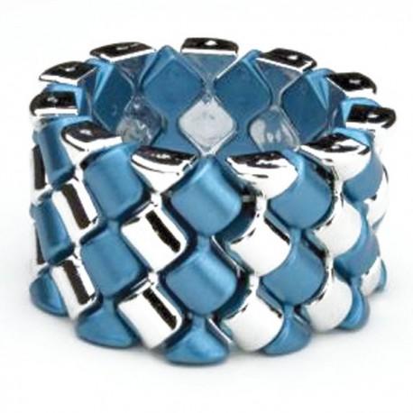 Carnival Flower Bracelet - Blue