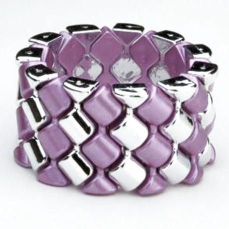 Carnival Flower Bracelet - Pink