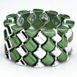 Carnival Corsage Bracelet - Green