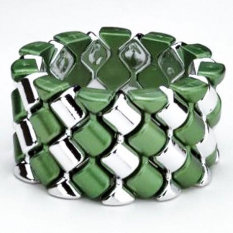 Carnival Flower Bracelet - Green