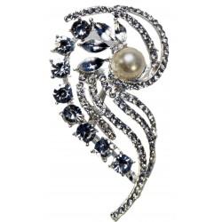 Parfait Brooch Pin - Silver (7cm Length on 15cm Pin)