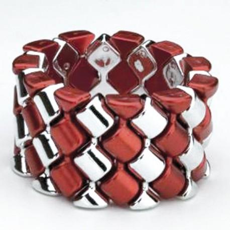 Carnival Flower Bracelet - Red