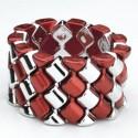 Carnival Corsage Bracelet - Red