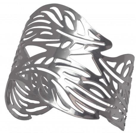Eden Corsage Cuff - Silver