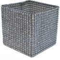 "Versatility Embracer - Silver (Fits 4"" & 5"" Cube Vases & 5"" & 6"" Fish Bowls)"