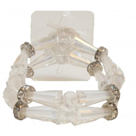 Fairy Tale Corsage Bracelet - Clear