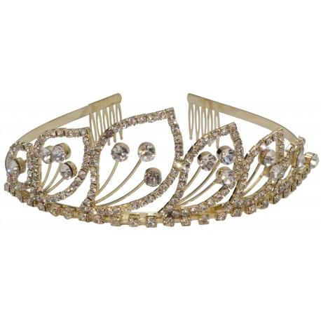 Italia Tiara - Gold