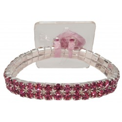 Sophisticated Lady Corsage Bracelet - Pink