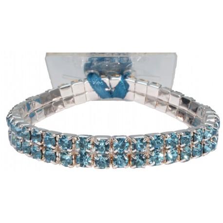 Sophisticated Lady Corsage Bracelet - Turquoise