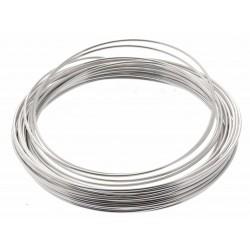 Aluminium Wire - Silver (2mm x 100g)