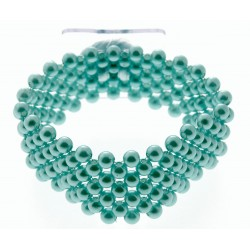 Narrow Classic Corsage Bracelet - Turquoise