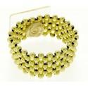 Narrow Classic Corsage Bracelet - Gold