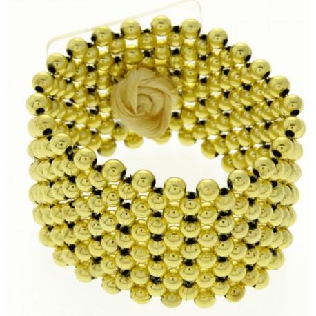 Classic Gold Corsage Bracelet