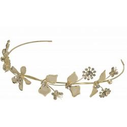 Willow Headband - Gold (14cm Diameter)