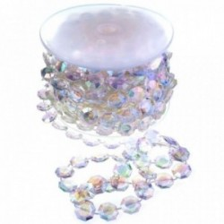 12mm Acrylic Stone Garland - Iridescent (12mm x 10m)