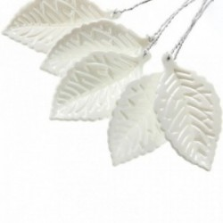Pearl Leaf - Pearl White (11cm Long, 50pcs per pk)