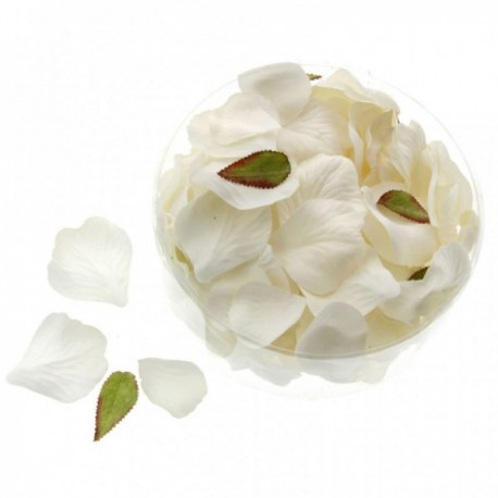 Rose Petals - Cream/Ivory (164pcs per pk)