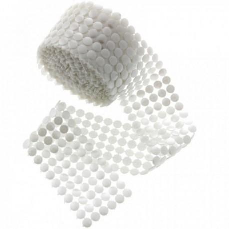 Sassy Pearl Button Wraps - White (5.5cm x 5yards)