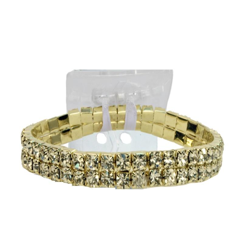 Gold Wrist Bracelet: Sophisticated Lady Corsage Bracelet
