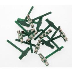 Corsage Clip - Green (50pcs per pk)